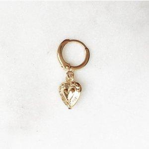 BY NOUCK BY NOUCK Earrings | HEART | GOLD