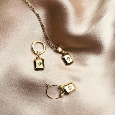 BY NOUCK BY NOUCK Earring | STAR AMULET | GOLD