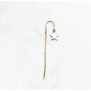 BY NOUCK BY NOUCK Earrings | LONG STAR CHAIN | GOLD