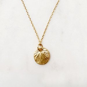 BY NOUCK BY NOUCK Necklace | Vintage Coin | Gold