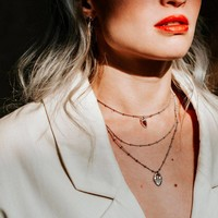 UNOde50 UNOde50  Ketting | DAZZLED | ZILVER | KRISTAL | SS19
