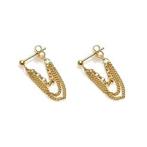 KARMA Jewelry KARMA EARRING | MULTI CHAIN | GOLD