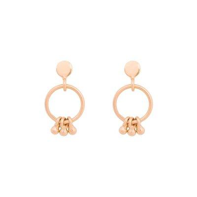 MIAB Jewels MIAB Oorbellen | Rose | Trio Ring