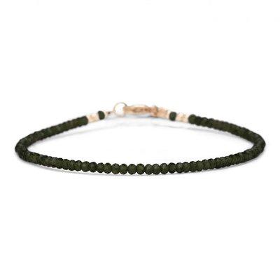 MIAB Jewels MIAB Armband | Goud | All Green | 14 K Gold Filled
