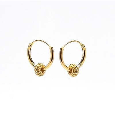 KARMA Jewelry KARMA CREOLEN | HOOPS SYMBOLS | GOLD | M1485