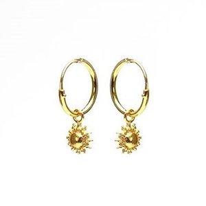 KARMA Jewelry KARMA CREOLEN | HOOPS SUN | GOLD