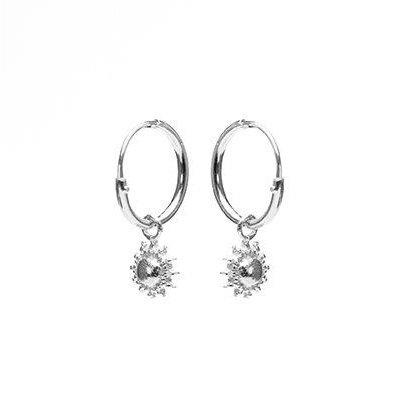 KARMA Jewelry KARMA CREOLEN | HOOPS SUN | ZILVER | M2012