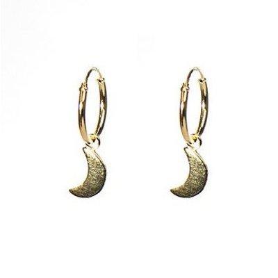 KARMA Jewelry KARMA CREOLEN | HOOPS MOON | GOLD | M1912