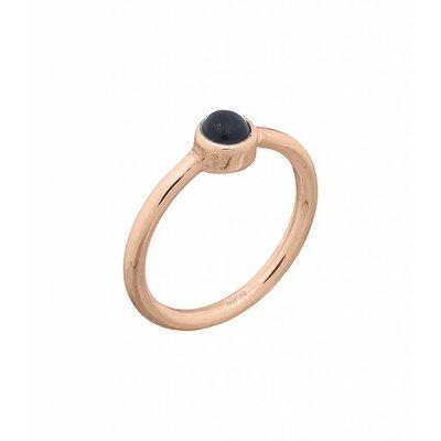 MIAB Jewels MIAB Ring | Rose | Black Stone