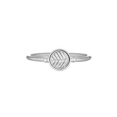 MIAB Jewels MIAB Ring | Zilver | Fishbone