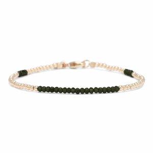 MIAB Jewels MIAB Armband | Goud | Green