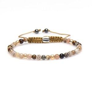 KARMA Jewelry KARMA Armband | Spiral Sary XXS | Roze Crystal | 84301