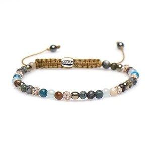 KARMA Jewelry KARMA Armband | Spiral Live  XXS | Roze Crystal | 84305