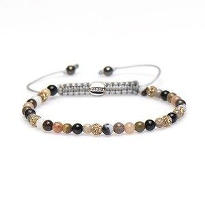 KARMA Jewelry KARMA Armband | Spiral Lynn XXS | Gold Crystal | 84259