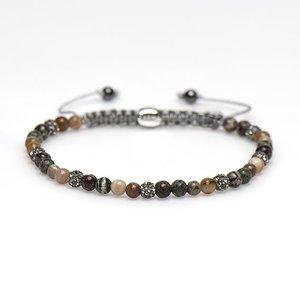 KARMA Jewelry KARMA Armband | Spiral Ysa XXS | Grey Crystal | 84272