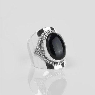 YMALA YMALA Ring | 925 Zilver | ONYX edelsteen | YM-0001
