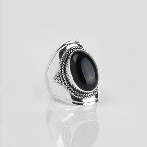 YMALA YMALA Ring | 925 Zilver | ONYX edelsteen
