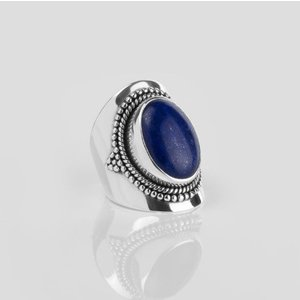 YMALA YMALA Ring | 925 Zilver | Lapis Lazuli edelsteen