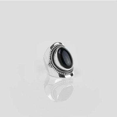 YMALA YMALA Ring | 925 Zilver | ONYX edelsteen | YM-0019