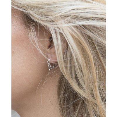 MIAB Jewels MIAB Oorbellen | Zilver | Curly | 925 Sterling