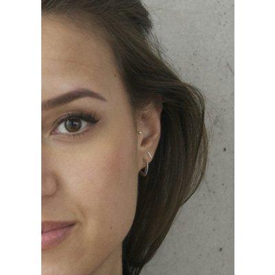 MIAB Jewels MIAB Oorbellen | Goud | Pointy Dots | 14k Goud Vermeil
