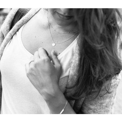 MIAB Jewels MIAB Ketting | Goud | Tiny Balls | Gold Filled