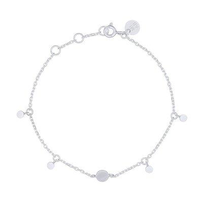 MIAB Jewels MIAB Armband   Zilver   Flat   Sterling Zilver 925