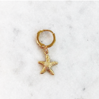 BY NOUCK BY NOUCK Earrings | STARFISH | GOLD