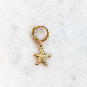 BY NOUCK BY NOUCK Earrings | STARFISH | GOLD
