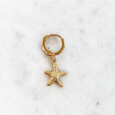 BY NOUCK BY NOUCK Earring | STARFISH | GOLD
