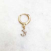 BY NOUCK BY NOUCK Earrings | SHINING MOON | GOLD