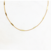 BY NOUCK BY NOUCK Necklace | Signet Chain | Gold