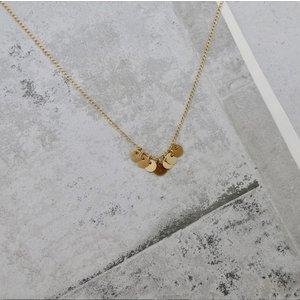 MIAB Jewels MIAB Ketting | Goud | 7 Rounds