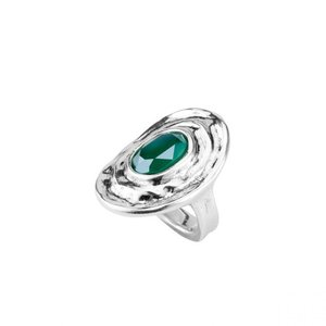 UNOde50 UNOde50 Ring | TEOTL | Zilver | Kristal | Green | SS19