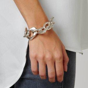 UNOde50 UNO de 50 Armband | YOU ARE MINE | Zilver | Grote Schakel