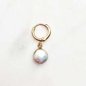BY NOUCK BY NOUCK Earrings | PEARL DROP | GOLD