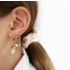 BY NOUCK BY NOUCK Earrings   PEARL DROP   GOLD
