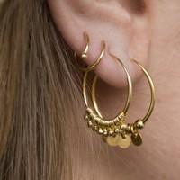 MIAB Jewels MIAB Oorbellen | Goud | Coins