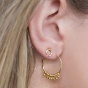 MIAB Jewels MIAB Oorbellen | Goud | Twiddle | 14k Goud Vermeil