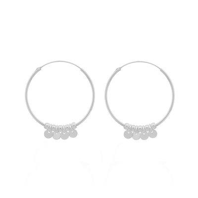 MIAB Jewels MIAB Oorbellen | Zilver | Coins
