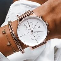 KAPTEN & SON KAPTEN & SON Horloge | CHRONO | ROSE