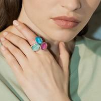UNOde50 UNOde50 Ring | TREASURE | Zilver | Kristal | SS19