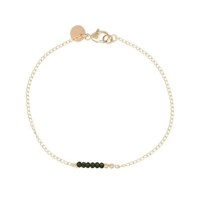 MIAB Jewels MIAB Armband | Goud | Green Chain | 14k Goud Vermeil