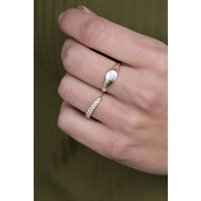 MIAB Jewels MIAB Ring | Goud | Braided