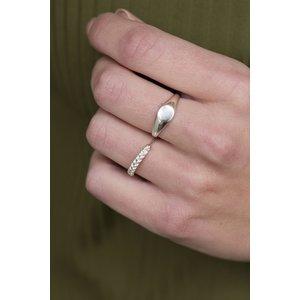 MIAB Jewels MIAB Ring | Zilver | Braided