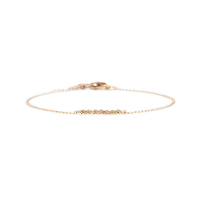 MIAB Jewels MIAB Armband | Goud | Facet Chain | 14k Gold Filled