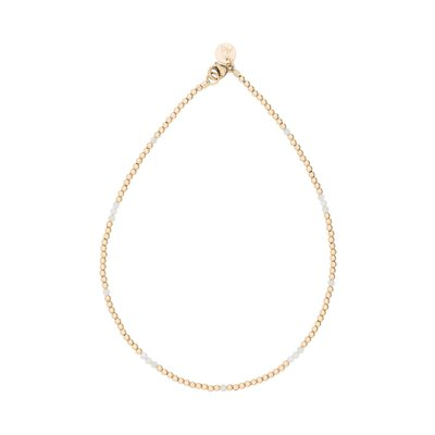 MIAB Jewels MIAB Enkelbandje | Goud | White | Gold Filled