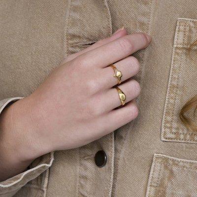 MIAB Jewels MIAB Ring | Rose Goud | V Shape