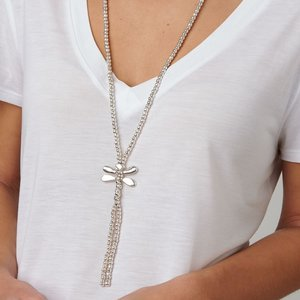 UNOde50 UNOde50  Ketting | FLY-FLY | ZILVER | LANG | LIBELLE