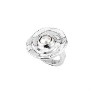 UNOde50 UNOde50 Ring | TEXCOCO | Zilver Parel | SS19